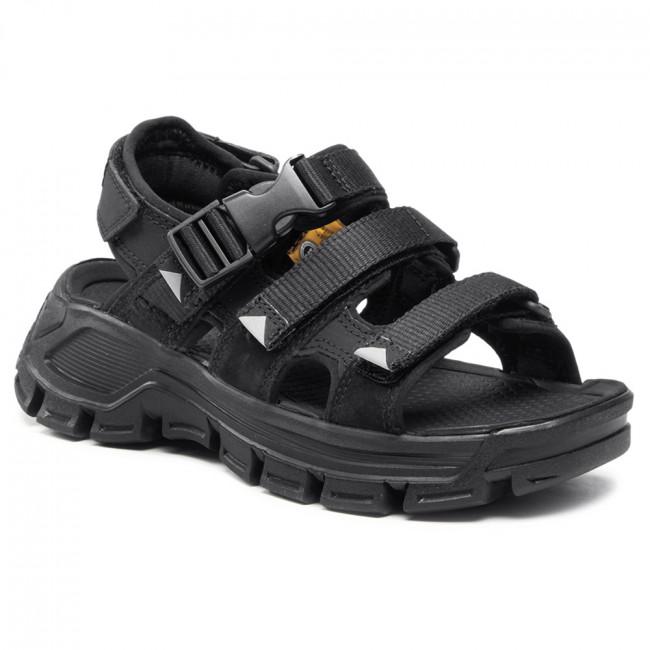Sandále CATERPILLAR - Progressor Buckle P724527 Black/Grey