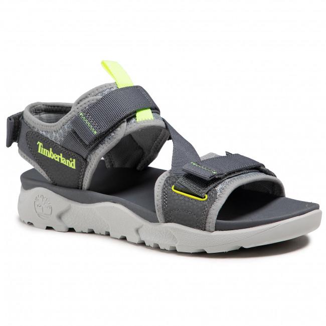 Sandále TIMBERLAND - Ripcord 2 Strap Sandal TB0A2AFA0331 Medium Grey Webbing