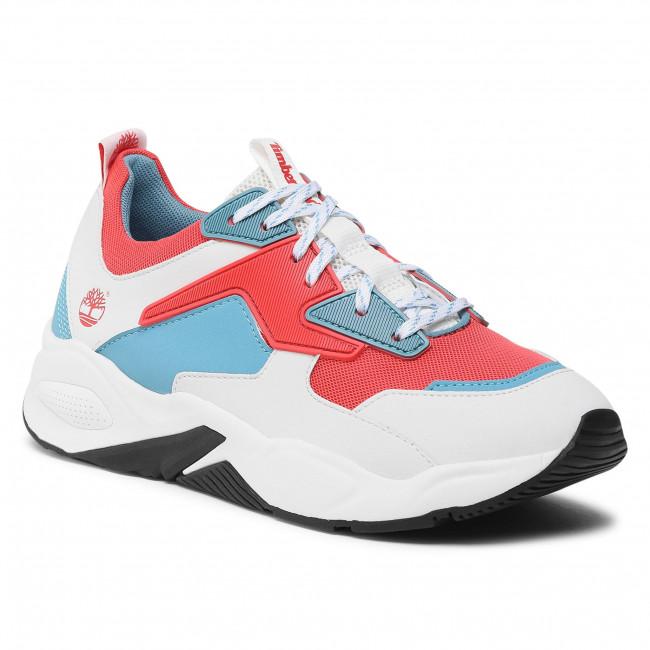 Sneakersy TIMBERLAND - Delphiville Textile Sneaker TB0A234E801 Dark Pink Mesh