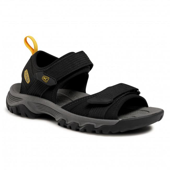 Sandále KEEN - Targhee III Open Toe H2 1024865  Black/Yellow