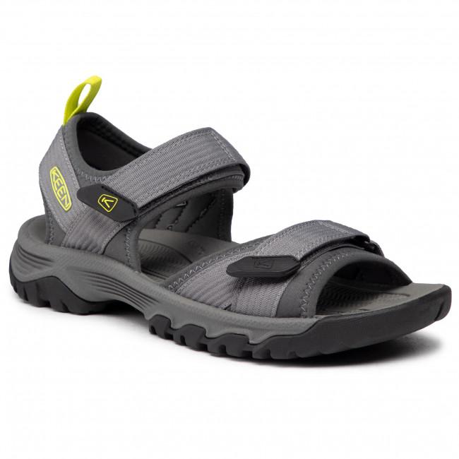 Sandále KEEN - Targhee III Open Toe H2 1024866  Steel Grey/Evening Primrose