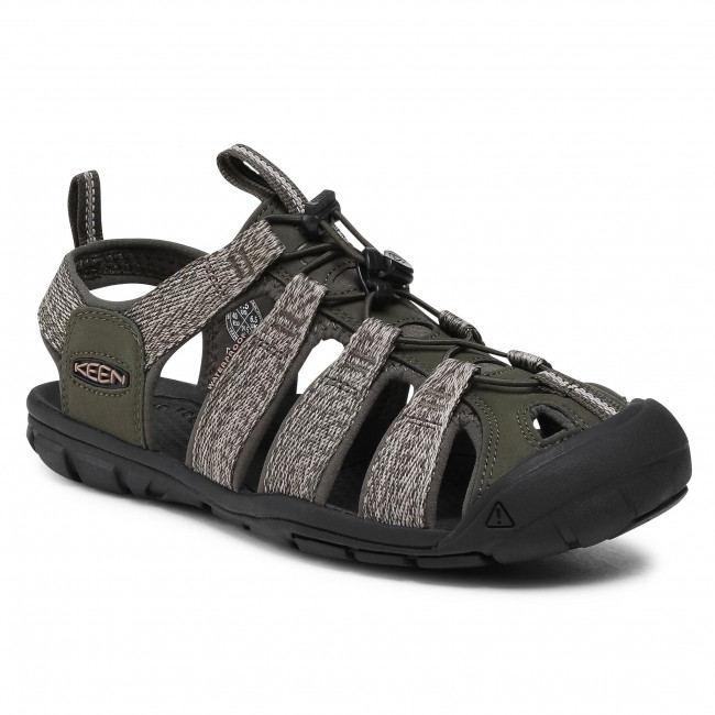 Sandále KEEN - Clearwater Cnx 1022961 Forest Night/Black