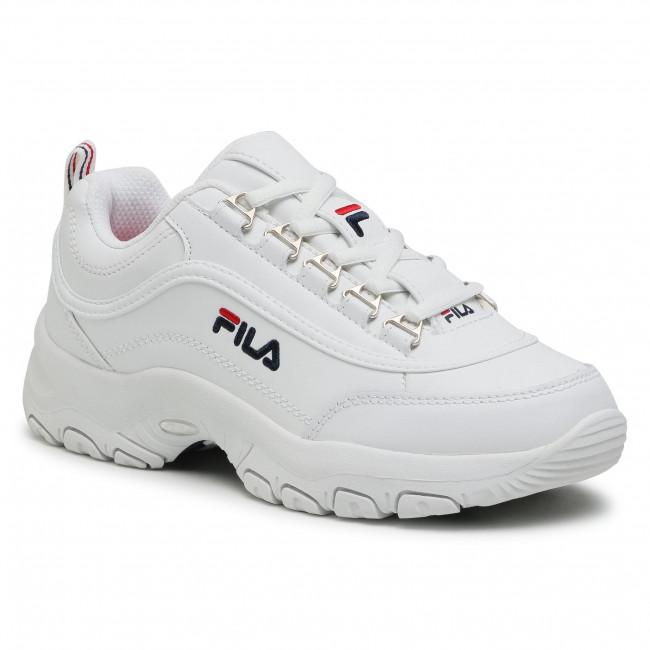 Sneakersy FILA - Strada Low Kids 1010781.1FG White