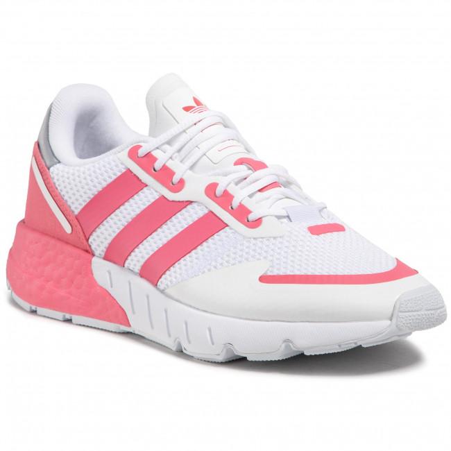 Topánky adidas - Zx 1K Boost G58924 Ftwwht/Hazros/Halsil