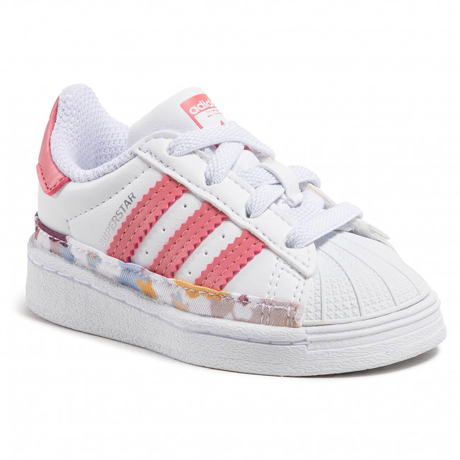 Topánky adidas - Superstar El I FY5375  Ftwwht/Hazros/Hazros