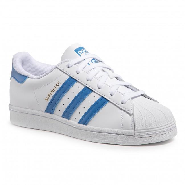Topánky adidas - Superstar H68093 Ftwwht/Trublu/Goldmt