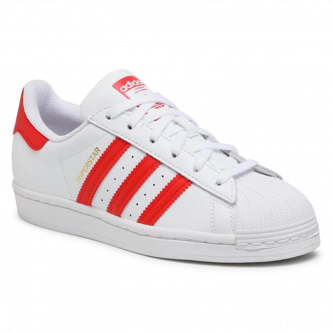 Topánky adidas - Superstar H68094  Ftwwht/Vivred/Goldmt