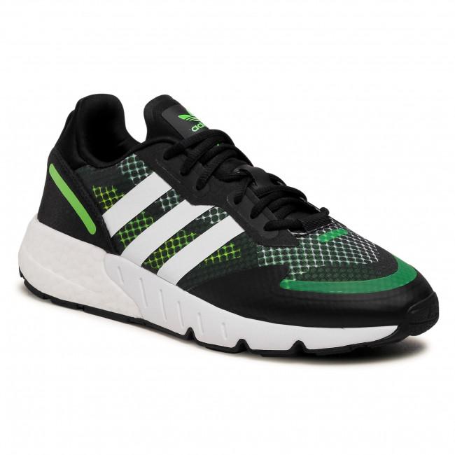 Topánky adidas - Zx 1K Boost FY5685 Cblack/Ftwwht/Sgreen
