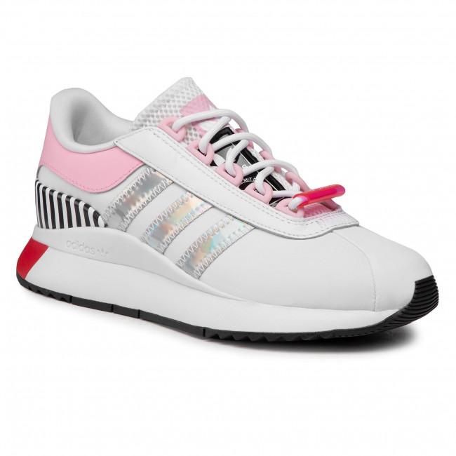 Topánky adidas - Sl Andridge W FY5080 Ftwwht/Trupnk/Vivred