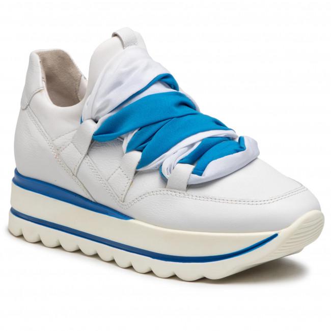 Sneakersy GABOR - 43.411.26 Weiss/Aqua