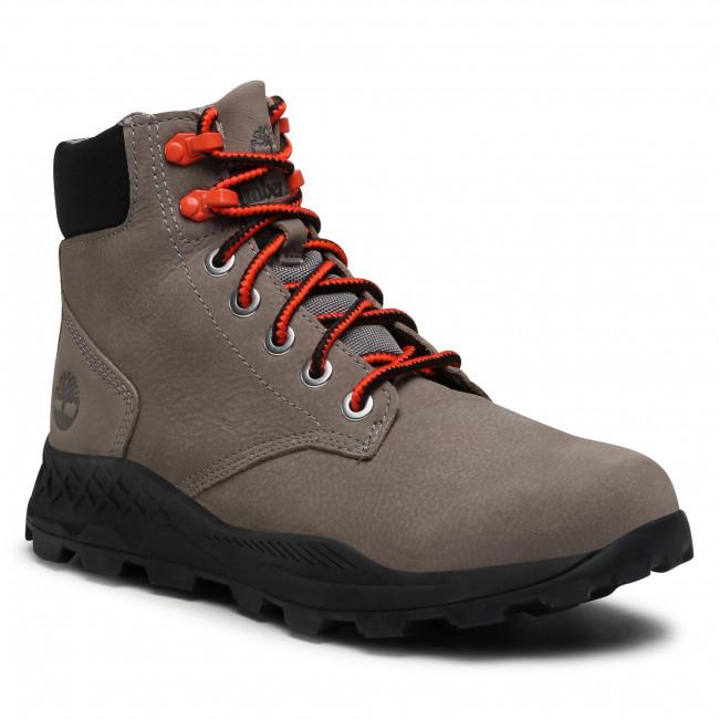 Trekingová obuv TIMBERLAND - Brooklyn 6 In Boot TB0A27QZF49 Medium Grey