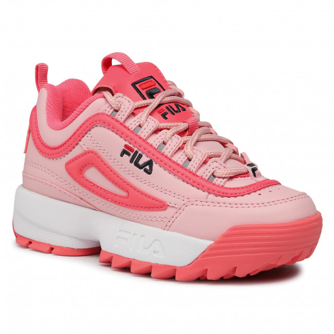 Sneakersy FILA - Diruptor Kids 1010567.73W Coral Blush