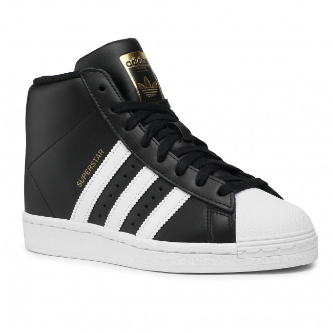 Topánky adidas - Superstar Up W FW0117  Cblack/Ftwwht/Goldmt
