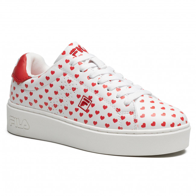Sneakersy FILA - Crosscourt Altezza F Wmn 1011202.92K White/Fila Red