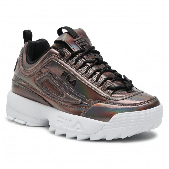 Sneakersy FILA - Disruptor F Wmn 1011236.16Y Black Iridescent