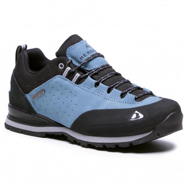 Trekingová obuv BERGSON - Binga Low Stx  Blue