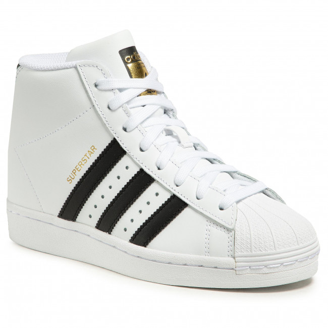 Topánky adidas - Superstar Up W FW0118  Ftwwht/Cblack/Goldmt