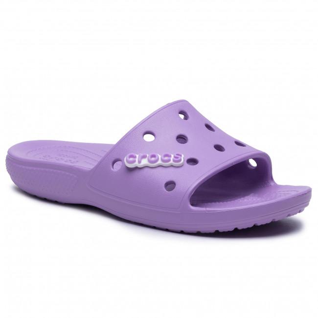 Šľapky CROCS - Classic Crocs Slide 206121 Orchid