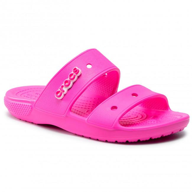 Šľapky CROCS - Classic Crocs Sandal 206761  Electric Pink
