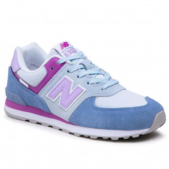 Sneakersy NEW BALANCE - GC574SL2 Modrá