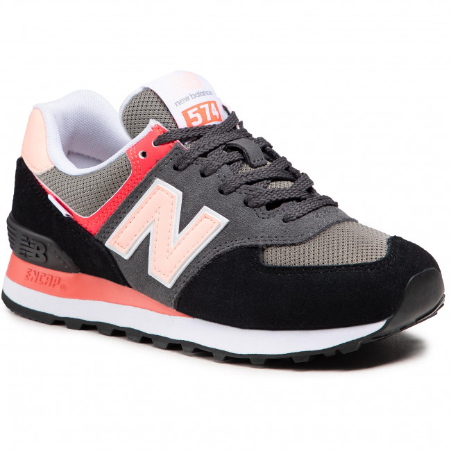 Sneakersy NEW BALANCE - WL574ST2 Čierna Farebná