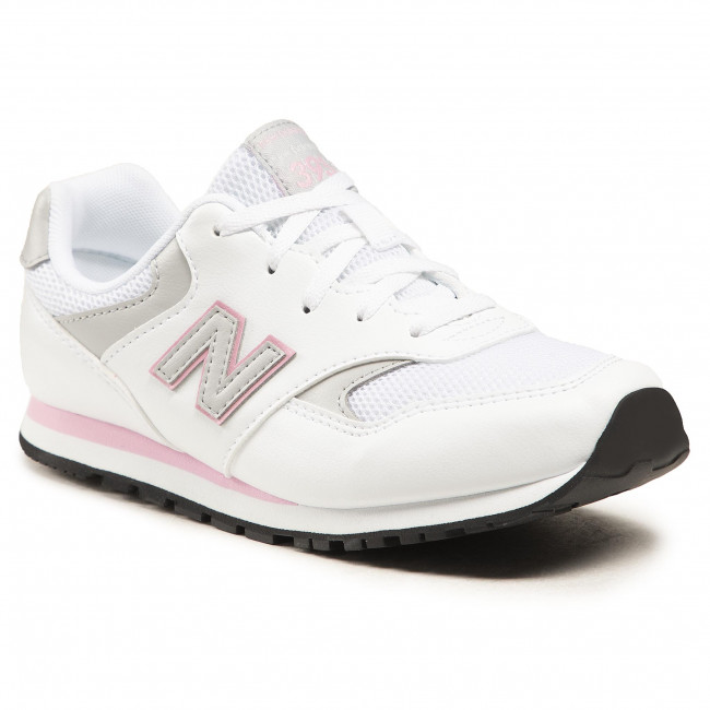Sneakersy NEW BALANCE - YC393CWP Biela
