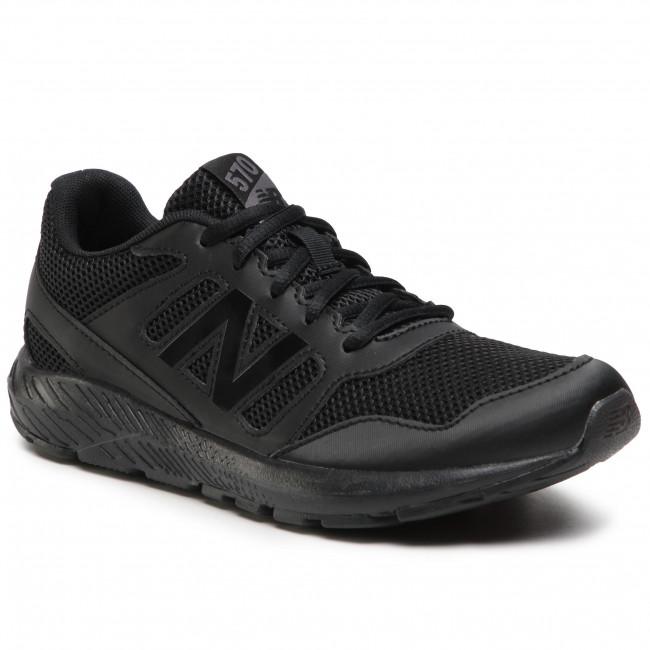 Sneakersy NEW BALANCE - YK570AB2 Čierna