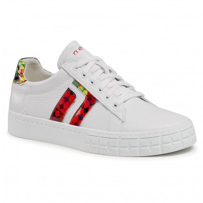 Sneakersy NESSI - 21025 Biały/Multicolor