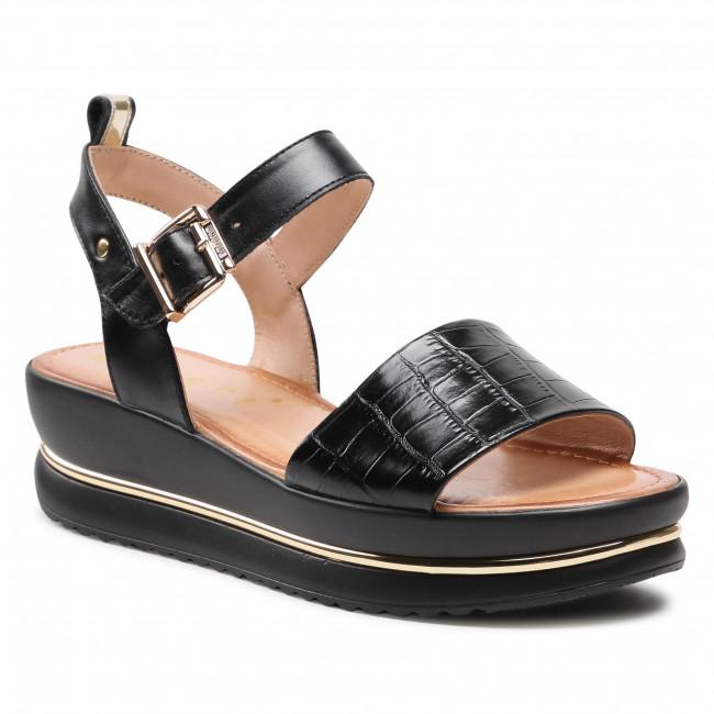 Sandále NESSI - 21062 Čierna