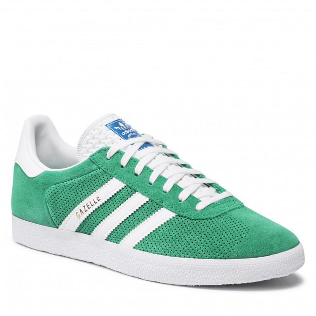 Topánky adidas - Gazelle H02215 Green/Ftwwht/Goldmt