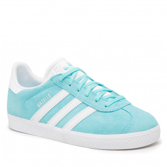 Topánky adidas - Gazelle J H01514  Pulaqu/Ftwwht/Pulaqu