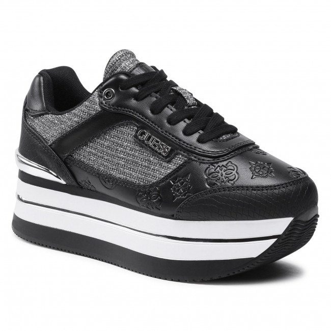Sneakersy GUESS - Hansin FL5HNS PEL12 BLKPE