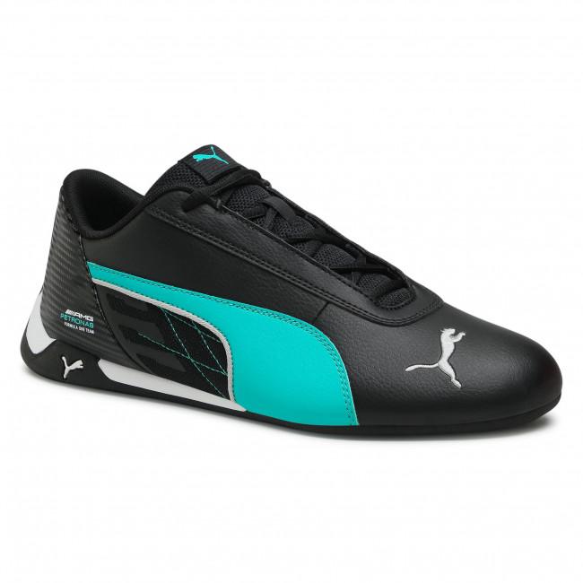 Topánky PUMA - Mapm R-Cat 306558 04 Puma Black/Spectra Green