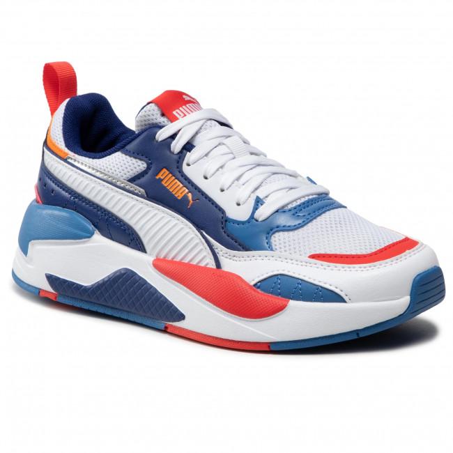 Sneakersy PUMA - X-Ray 2 Square Jr 374190 06 White/White/Orange/Red