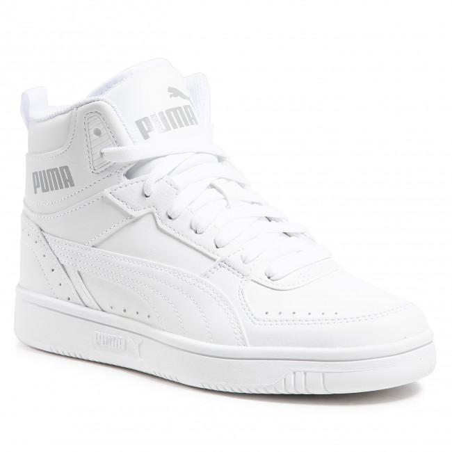 Sneakersy PUMA - Rebound Joy Jr 374687 07 White/White/Limestone