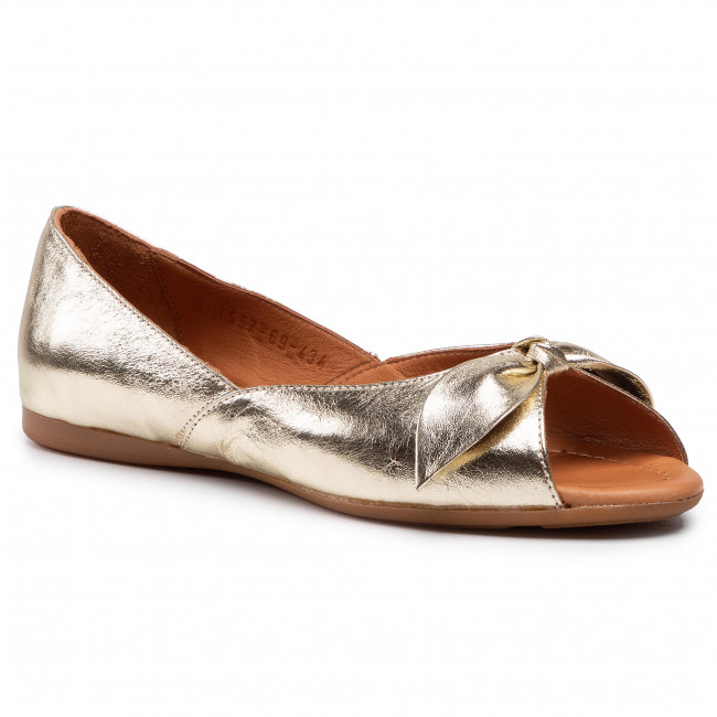 Sandále BADURA - 1557-69 Zlatá