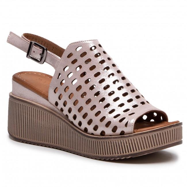 Sandále BADURA - B4019-69 Pudrowy Róż 1452