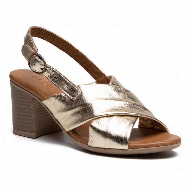 Sandále BADURA - B4066-69 Zlatá