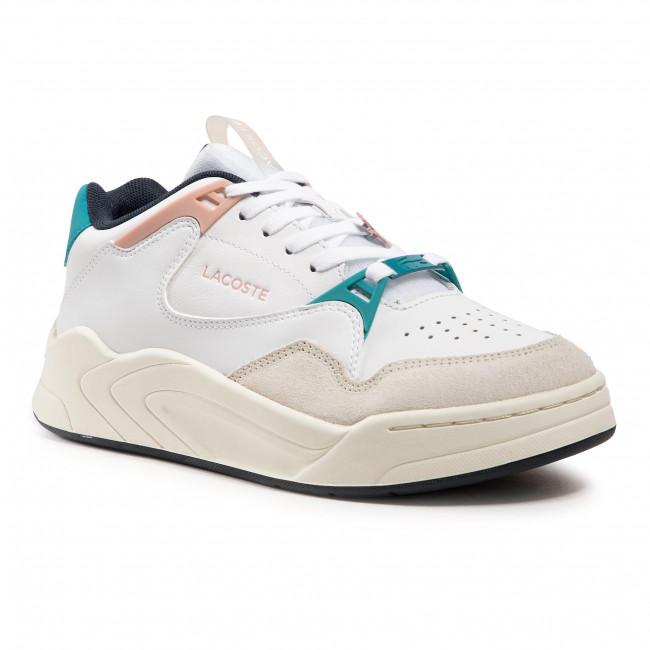 Sneakersy LACOSTE - Court Slam 0721 3 Sfa 7-41SFA00611Y6 Wht/Lt Pnk