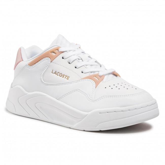 Sneakersy LACOSTE - Court Slam 0721 1 Sfa 7-41SFA00761Y9 Wht/Lt Pnk
