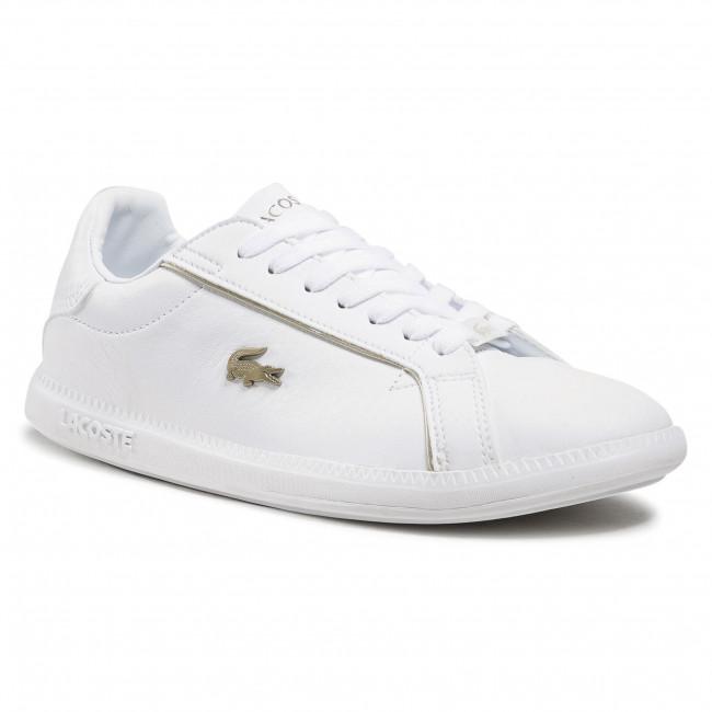 Sneakersy LACOSTE - Graduate 0721 1 Sfa 7-41SFA007721G Wht/Wht