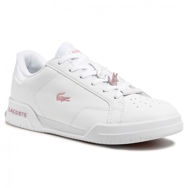 Sneakersy LACOSTE - Twin Serve 0921 1 Sfa 7-41SFA00811Y9 Wht/Lt Pnk