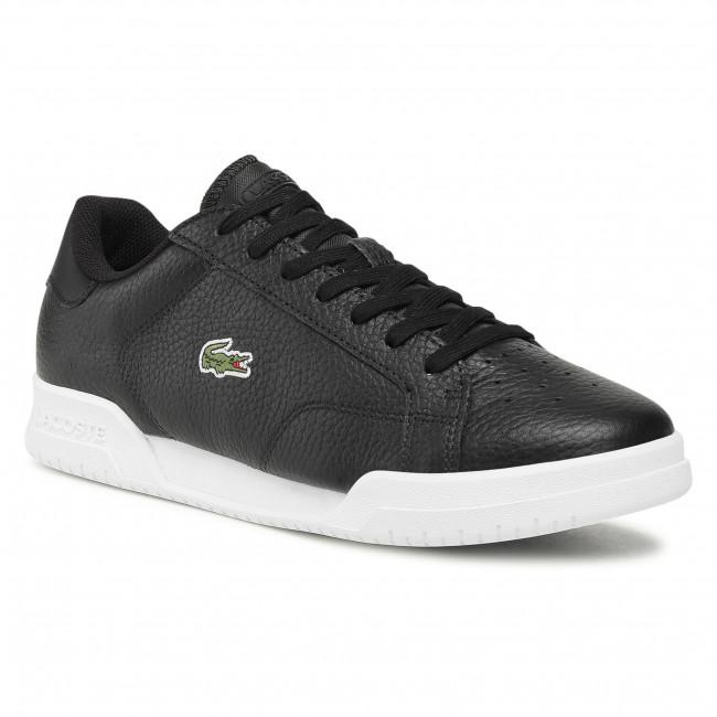 Sneakersy LACOSTE - Twin Serve 0721 3 Sma 7-41SMA0075312  Blk/Wht