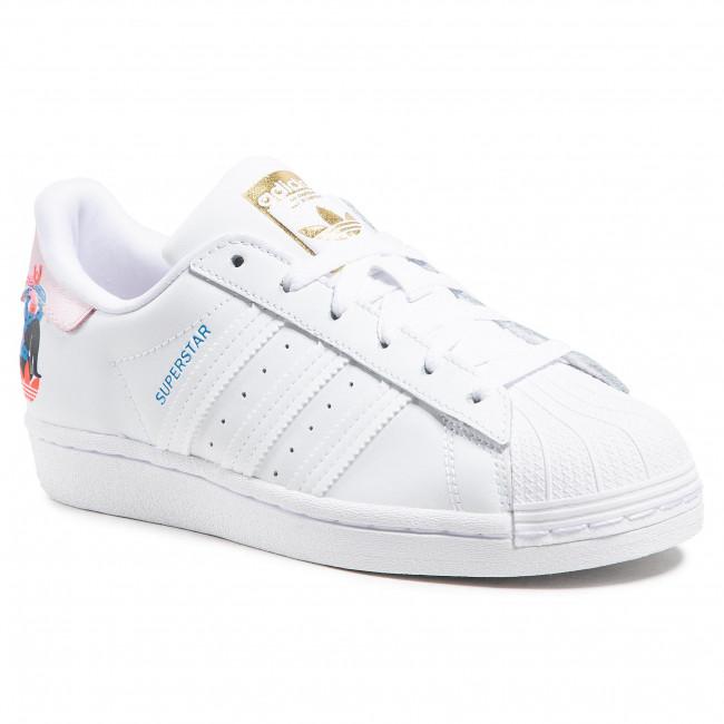 Topánky adidas - Egle Superstar W Q47223 Ftwwht/Ftwwht/Clpink