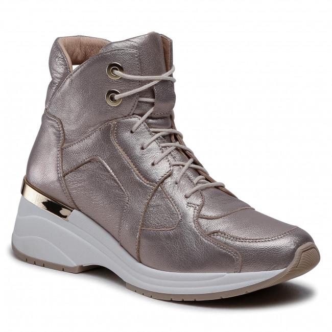 Sneakersy EKSBUT - 7C-6175-G45 Zlatá