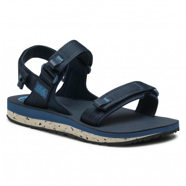 Sandále JACK WOLFSKIN -  Outfresh Deluxe Sandal M 4039431  Dark Blue/Blue