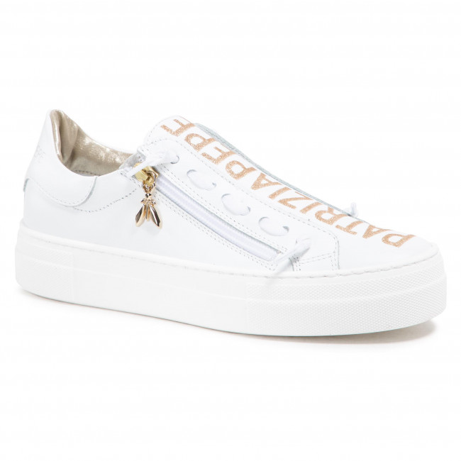 Sneakersy PATRIZIA PEPE - PPJ50.27 S V.Bianco Vitello
