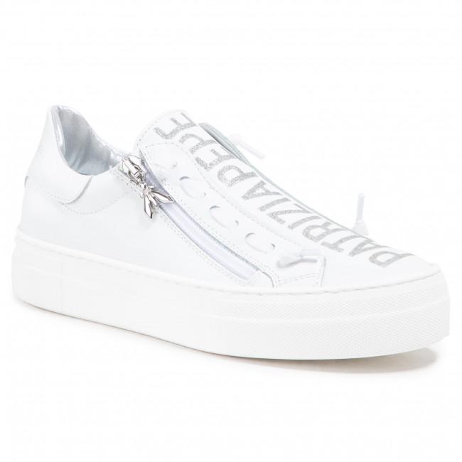Sneakersy PATRIZIA PEPE - PPJ50.30  V.Bianco Vitello