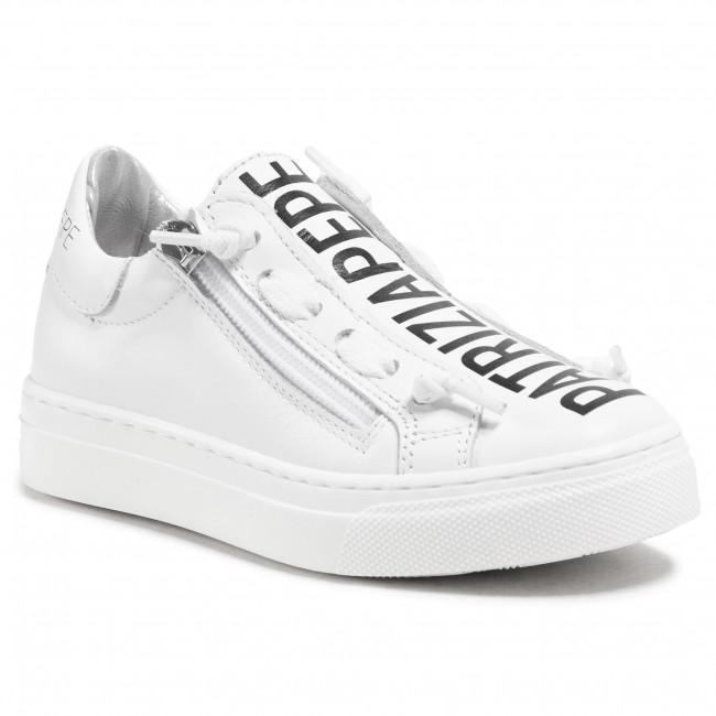 Sneakersy PATRIZIA PEPE - PPJ50.06 M Bianco