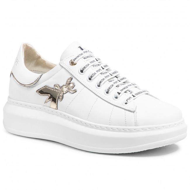 Sneakersy PATRIZIA PEPE - PPJ51.27 Bianco